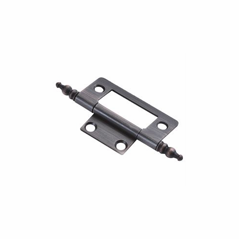 Belwith/Hickory Surface Face Mounted P8294-VB  Hinge, Surface Face Mounted Vintage Brass (EA)