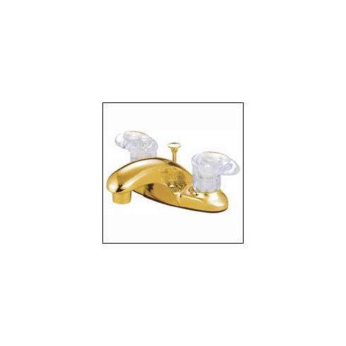 "Kingston Brass KB6152ALL Legacy Lavatory Faucet w/Brass Pop-Up 4 "" Center Polished Brass"