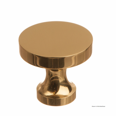 Colonial Bronze 171 Solid Brass Knob Diameter-1 1/8 inch Projection-1 inch