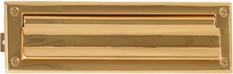 Solid Brass Mail Slots in 14 finishes