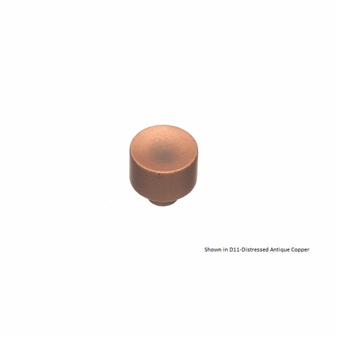 Colonial Bronze 184 Solid Brass Knob Diameter-1 inch Projection-1 inch