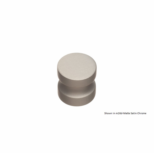 Colonial Bronze 188 Solid Brass Knob Diameter-1 1/4 inch Projection-1 1/4 inch Screw- 1/4-20 inch