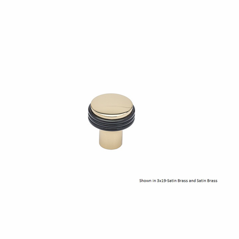 Colonial Bronze 376 Solid Brass Knob Diameter-7/8 inch Projection-1 inch