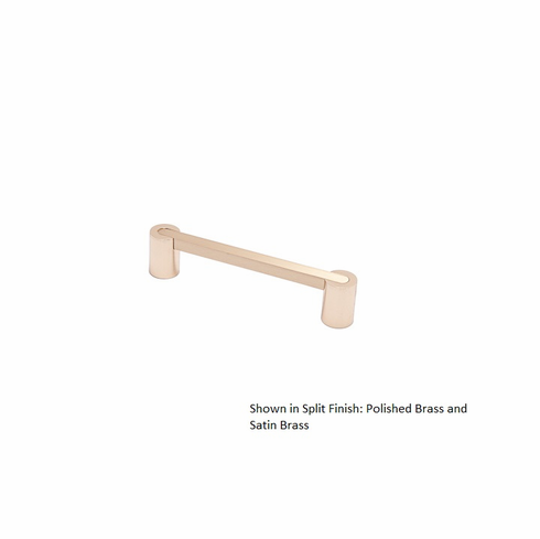 Colonial Bronze 43 Solid Brass Pull, Split Finish Item: Posts x Bar