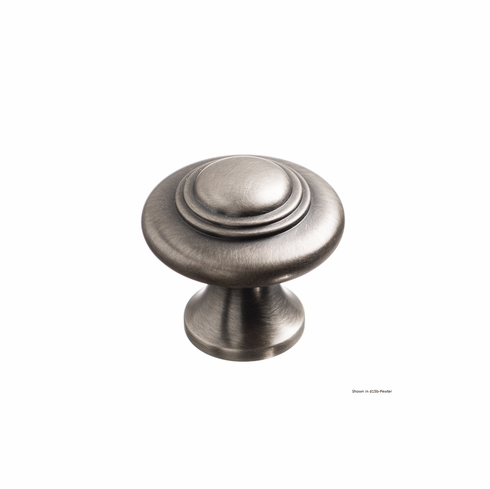 Colonial Bronze 675 Solid Brass Knob Diameter-1 3/8 inch Projection-1 1/4 inch