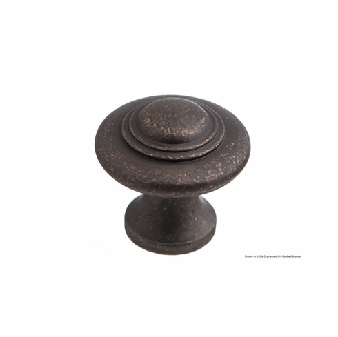 Colonial Bronze 676 Solid Brass Knob Diameter-1 1/2 inch Projection-1 1/4 inch