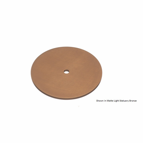 Colonial Bronze 9162 Rose Diameter-1 1/4 inch Thickness-1/8 inch