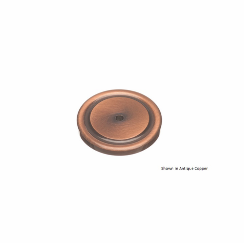 Colonial Bronze 9203 Rose Diameter-1 1/2 inch Thickness-1/8 inch