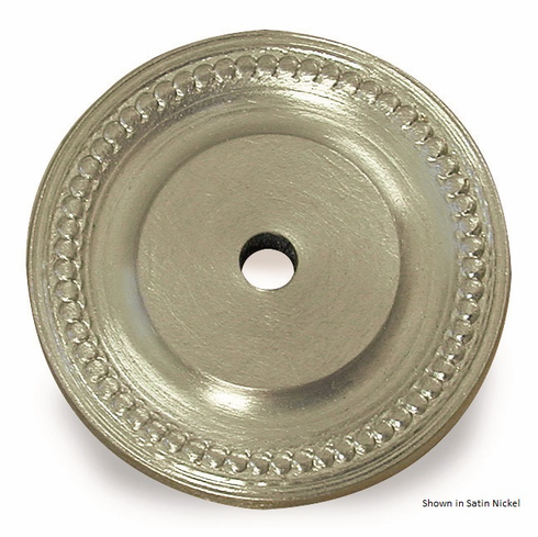 Colonial Bronze B9203 Rose for (backplates) for architectural pulls, towel bars, and appliance pulls, Size: Diameter-1 1/2 inch Thickness-1/8 inch, Drilled for 1/4-20 screw