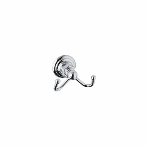 ROHL ROT7DPN Rohl Country Bath Double Robe Hook In Polished Nickel
