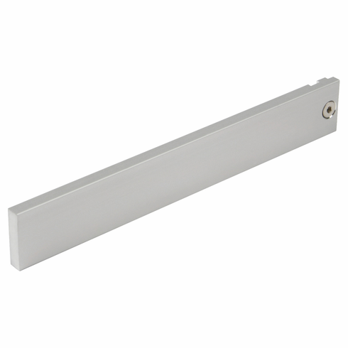 Hafele 774.40.941 21C Wall System, book end bracket, aluminum natural anodized, length 8 inches (each)