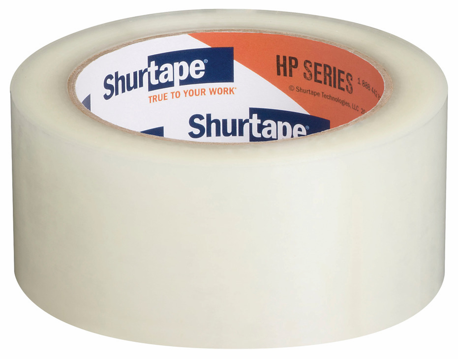 Hafele 001.81.280 Clear Carton Sealing Tape, 48mm x 100m (6 pcs/pkg***)