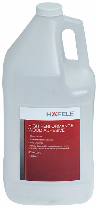 Hafele 003.00.250 High Performance, white, wood adhesive, 1 gallon (each)