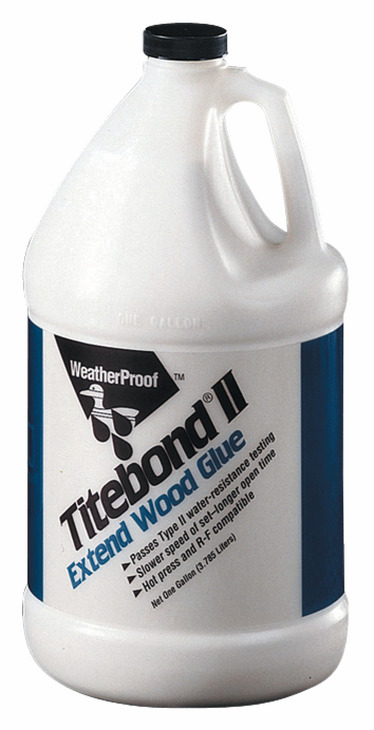 Hafele 003.15.032 Titebond, extend type 2 glue, 5 gallon (each)