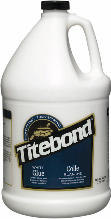 Hafele 003.15.124 Titebond, white wood glue, 1 gallon (each)