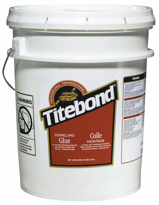 Hafele 003.15.132 Titebond Doweling, wood glue, 5 gallons (each)