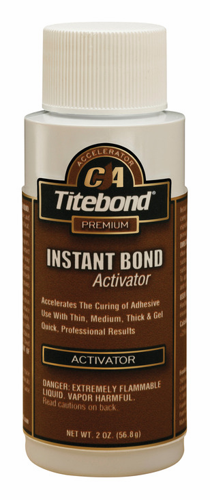 Hafele 003.50.299 Titebond Instant Bond Activator, 2 ounce bottle (each)