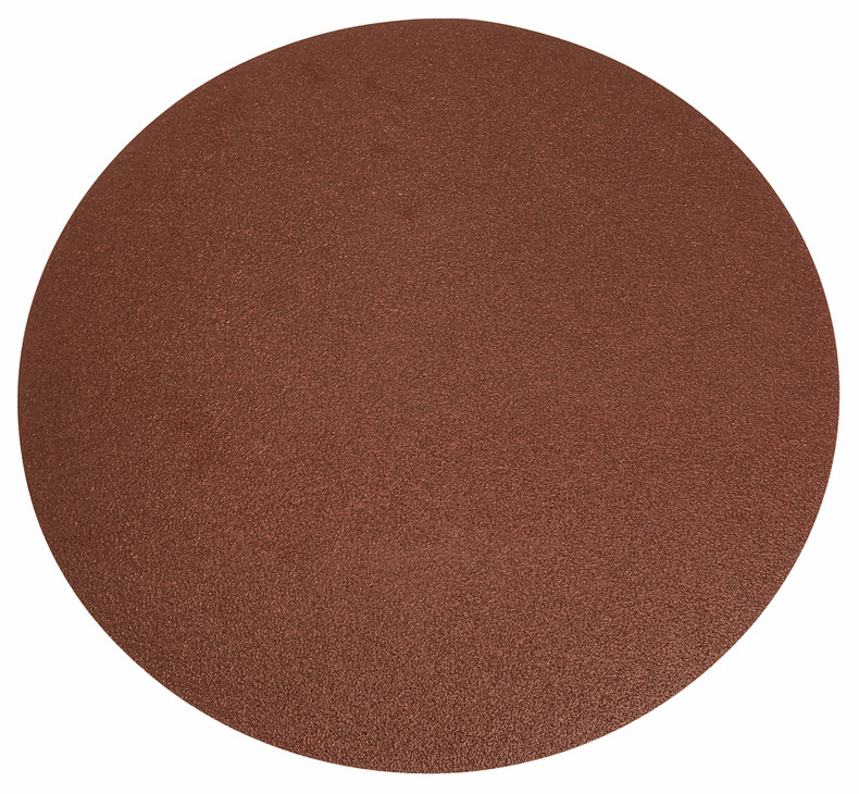 "Hafele 005.33.920 PSA disc, 12"", no holes, aluminum oxide, f weight resin paper, 80 grit, 25 per package"
