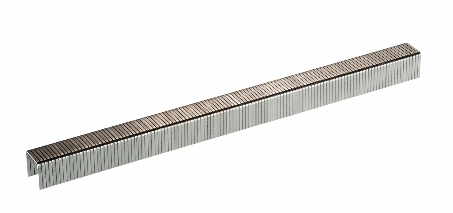 "Hafele 006.50.071 Senco G06BABN 20 gauge x 3/8"" crown x 3/8"" chisel point staple galvanized"
