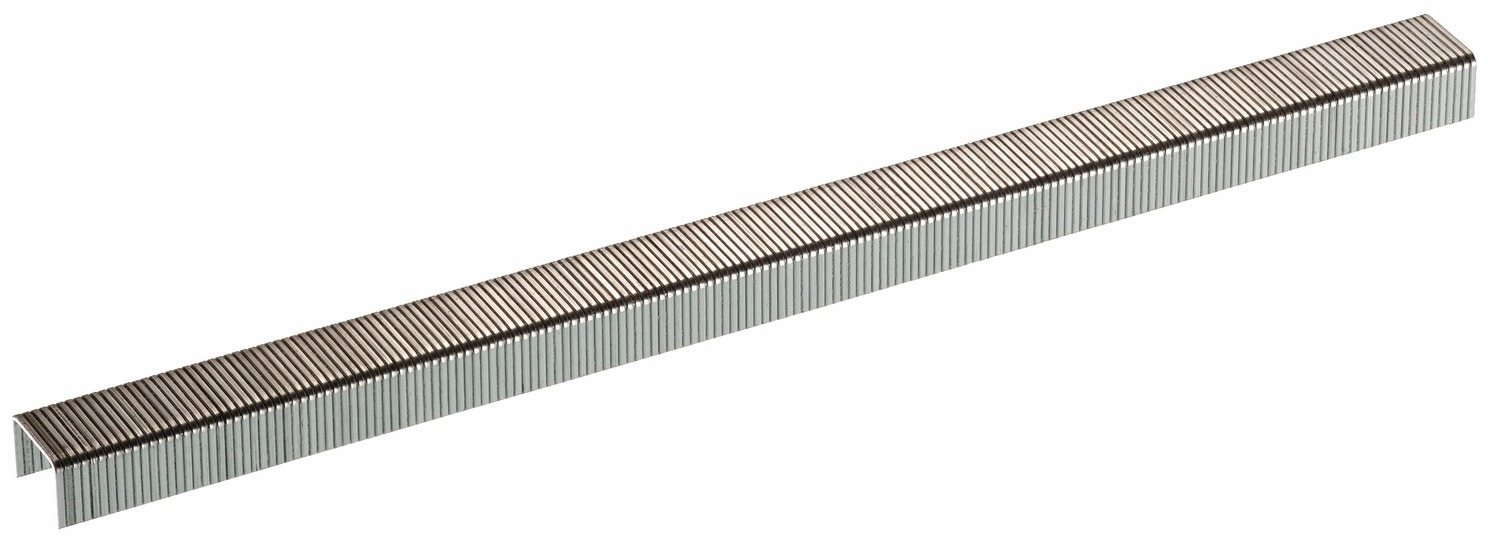"Hafele 006.50.081 Senco C04BAAP 22 gauge x 3/8"" crown x 1/4"" chisel point staple galvanized"