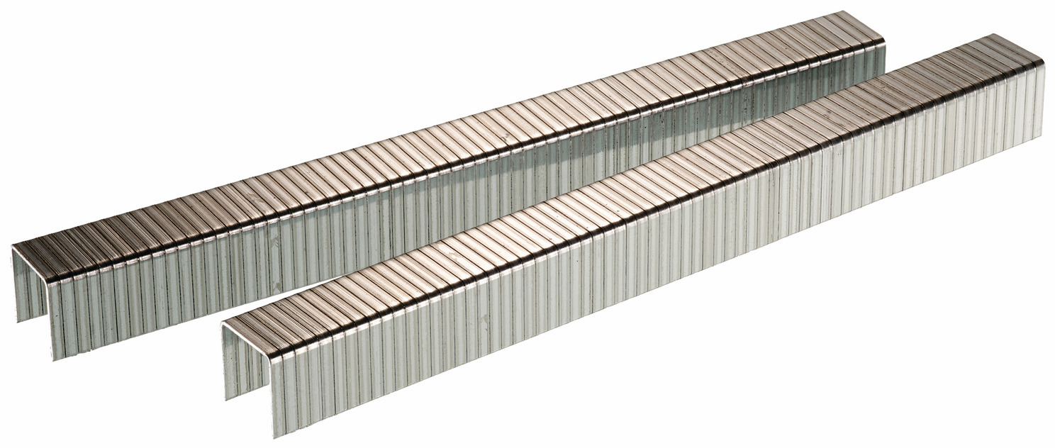 "Hafele 006.50.150 Senco J08BAAN 18 gauge x 7/16"" crown x 1/2"" staple galvanized"