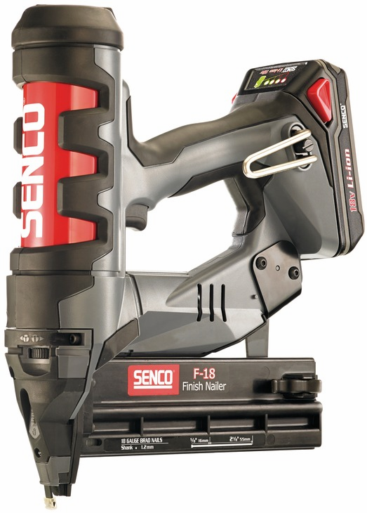 Hafele 006.50.220 Senco Fusion FN55AX 18 gauge straight strip cordless brad nailer (each)