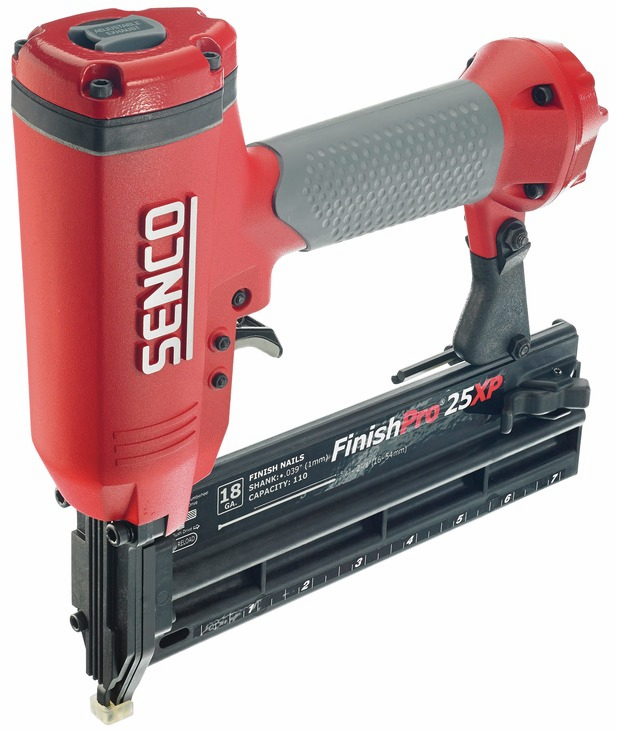 "Hafele 006.50.320 Senco Finish Pro 25XP 18 gauge x 2 1/8"" brad nailer (each)"