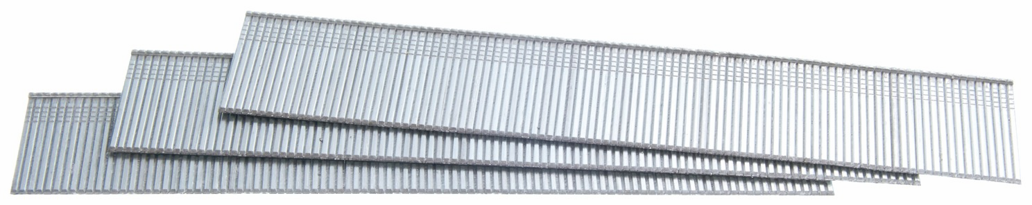 "Hafele 006.50.876 Senco AX13EAA 18 gauge x 1"" medium head straight strip brad nails galvanized"