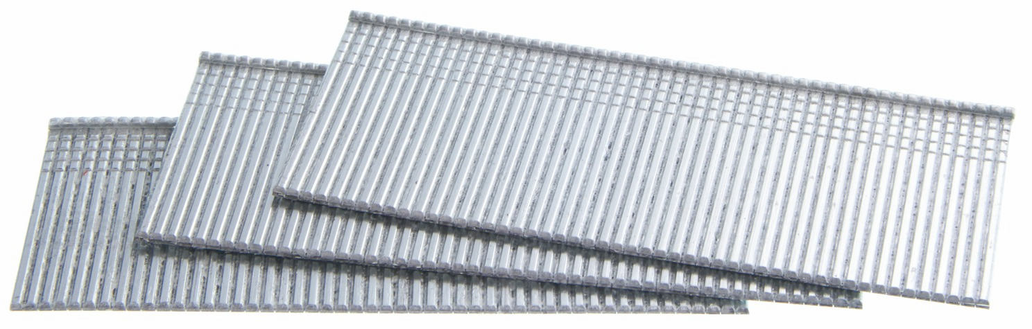 "Hafele 006.50.883 Senco M001002 16 gauge x 1 1/4"" T-head straight strip finish nails galvanized"