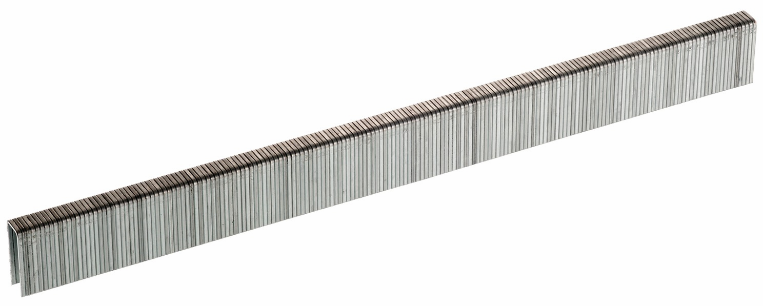 "Hafele 006.50.904 Senco A08BAB 22 gauge x 3/16"" crown x 1/2"" chisel point staple galvanized"
