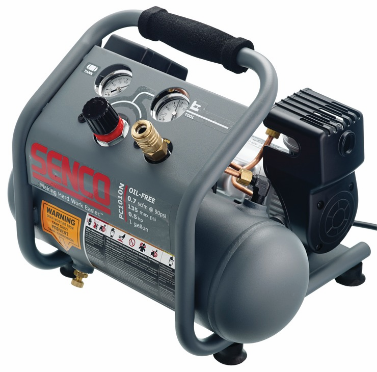 Hafele 006.50.910 Senco PC1010N, 1/2 horsepower, 1 gallon finish and trim air compressor (each)