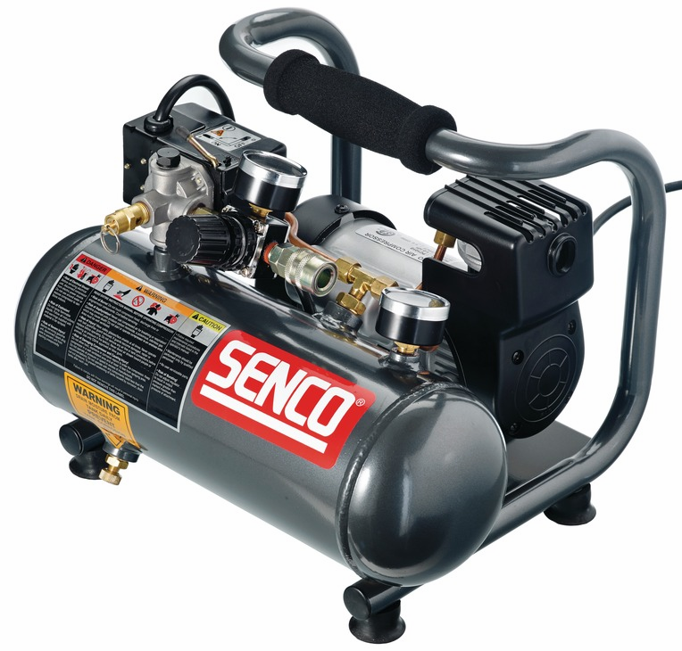Hafele 006.50.911 Senco PC1010, 1 horsepower, 1 gallon hand carry air compressor (each)