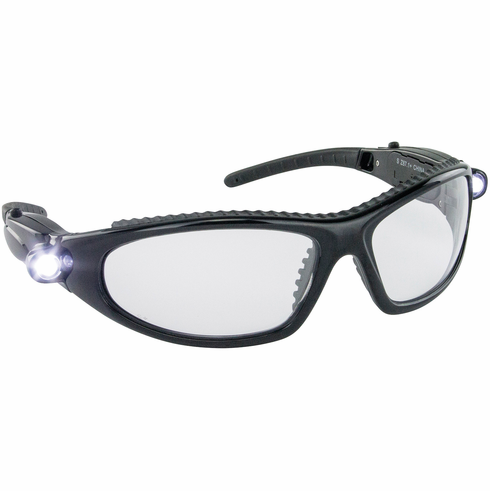 Hafele 007.48.049 00748049 Safety Glasses, LED Inspectors, anti-fog and scratch resistance lens