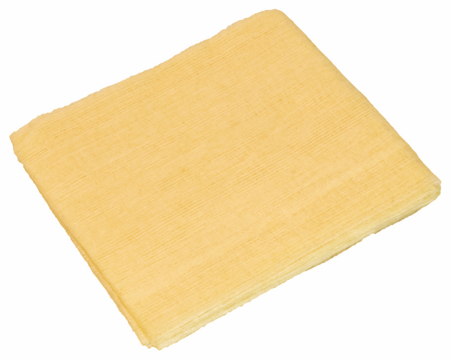 "Hafele 008.54.583 Tack Cloth, tan, 18"" x 36"", 144 individually wrapped, packed per case"