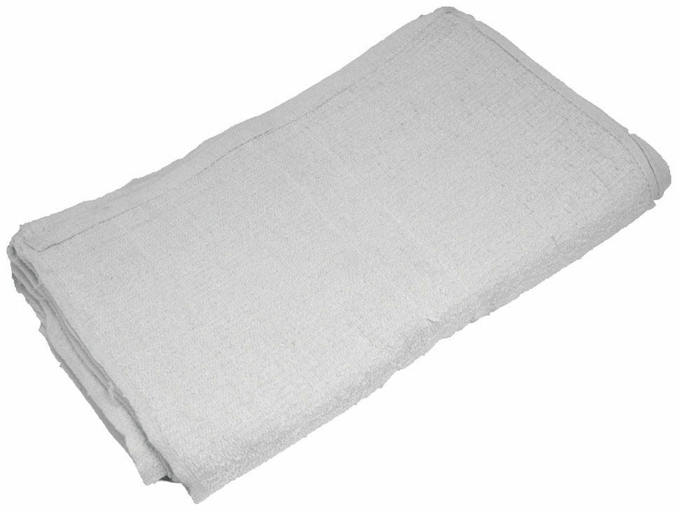 "Hafele 008.54.585 Terry Cloth Towels, 16"" x 19"", 12 per bag"