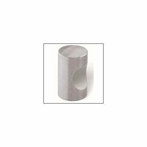 Siro Designs 44-173 Stainless Steel 905.15mm Knob Fine Brushed Stainless Steel