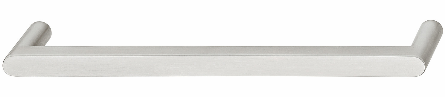 Hafele 100.54.002 Handle, stainless steel, matt, grade 304, M4, center to center 128mm (each)