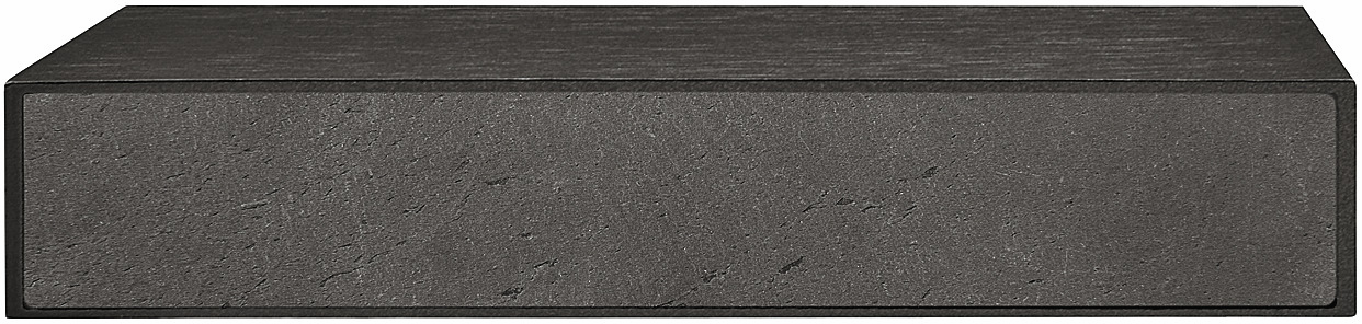 Hafele 102.07.311 Handle, Lago di Como, zinc, black, slate, 156ZN22, M4, center to center 128mm (each)