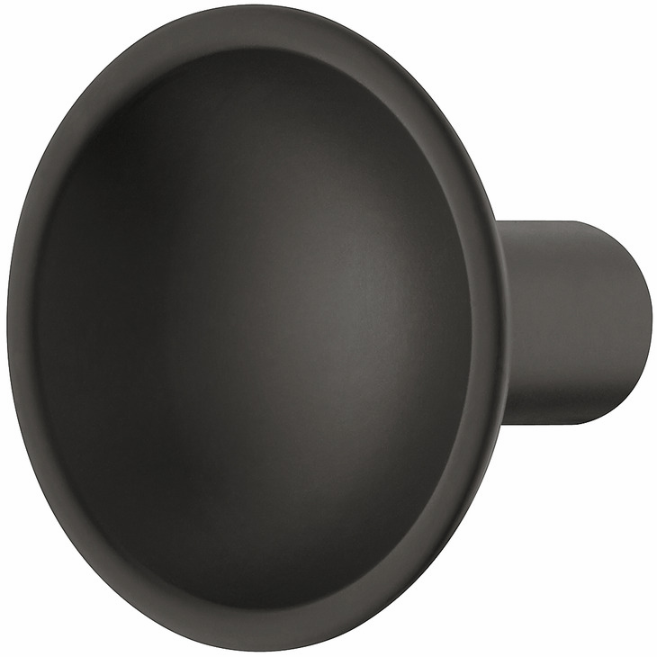 Hafele 106.65.350 Knob, Eclipse, zinc, black matt, 109ZN34, M4, 35mm diameter (each)