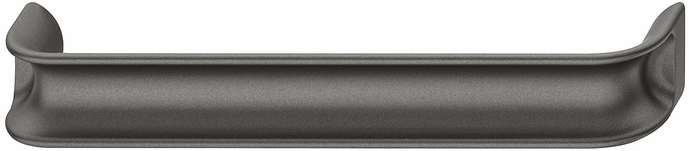 Hafele 106.65.446 Handle, Eclipse, zinc, anthracite, 130ZN34, M4, center to center 160mm (each)