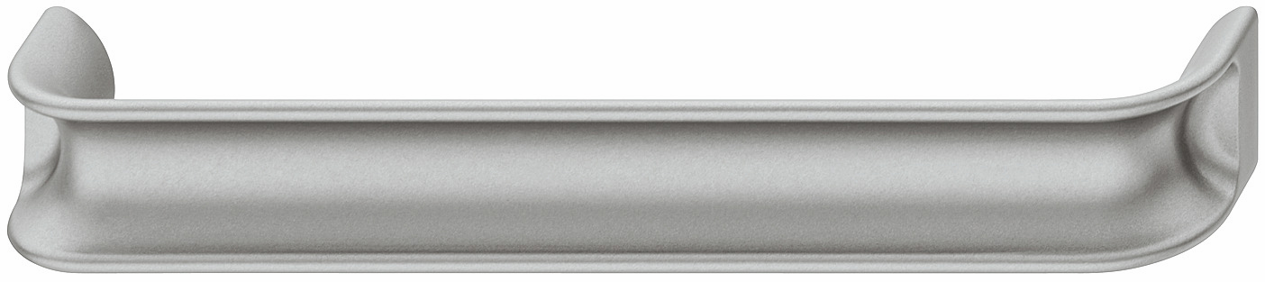 Hafele 106.65.646 Handle, Eclipse, zinc, silver matt, 148ZN34, M4, center to center 160mm (each)