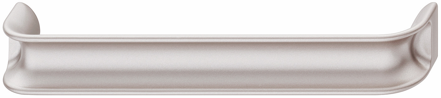 Hafele 106.65.746 Handle, Eclipse, zinc, rose silver, 153ZN34, M4, center to center 160mm (each)