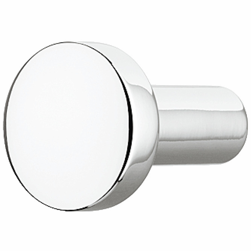 Hafele 110.35.271 Knob, Nouveau, zinc, polished chrome, 101ZN24, M4, diameter 20mm (each)