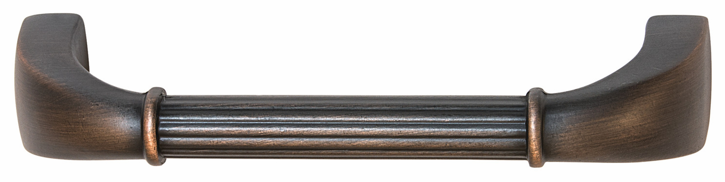 "Hafele 110.93.171 Handle, Keystone, zinc, oil-rubbed bronze, 105ZN72, 8-32, center to center 96mm, includes 1"" screws (each)"