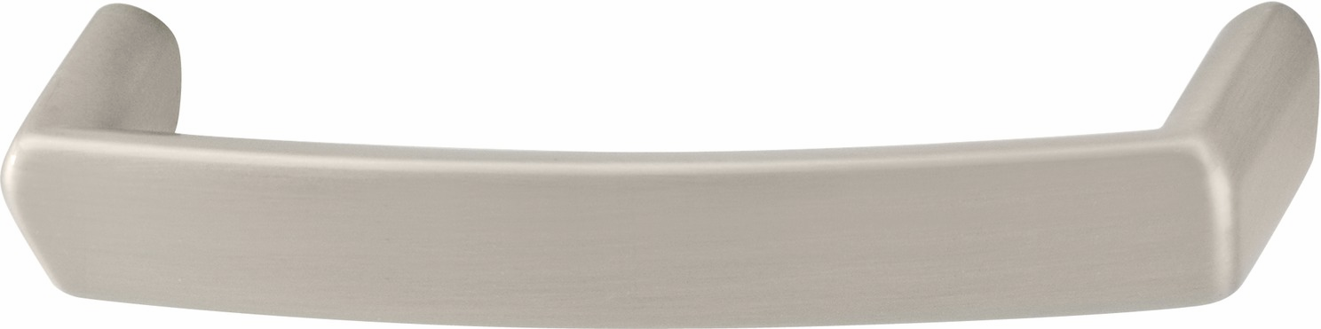 Hafele 111.59.627 Handle, Lago di Como, zinc, satin nickel, 102ZN22, M4, center to center 192mm (each)