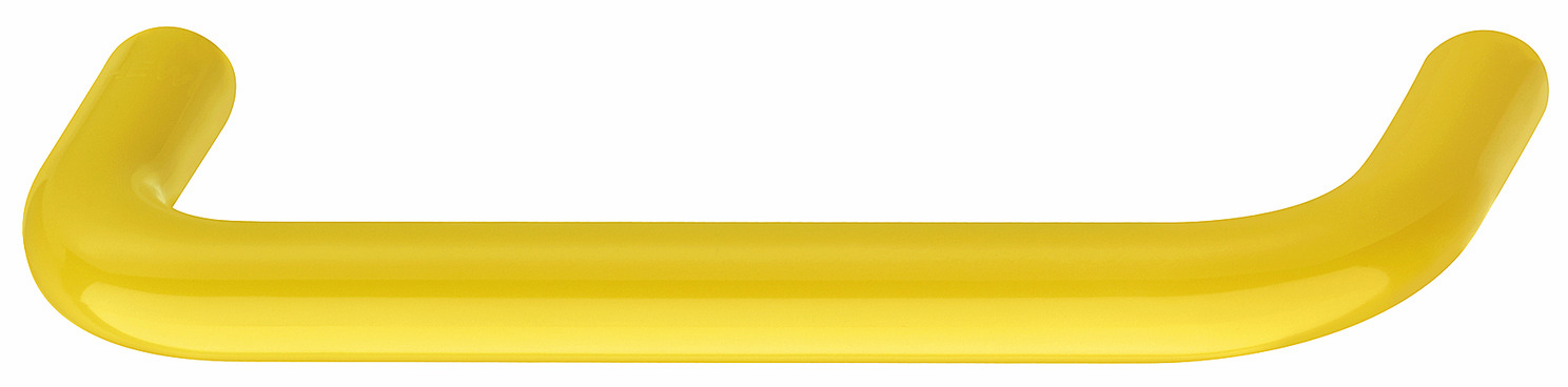 Hafele 114.20.718 Handle, polyamide, mustard yellow, center to center 128mm, diameter 10mm (each)