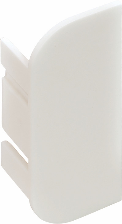 Hafele 126.37.976 End Cap, C-Profile, Passages Collection, plastic, white, left and right, RAL9010 (2 pcs/pkg***)