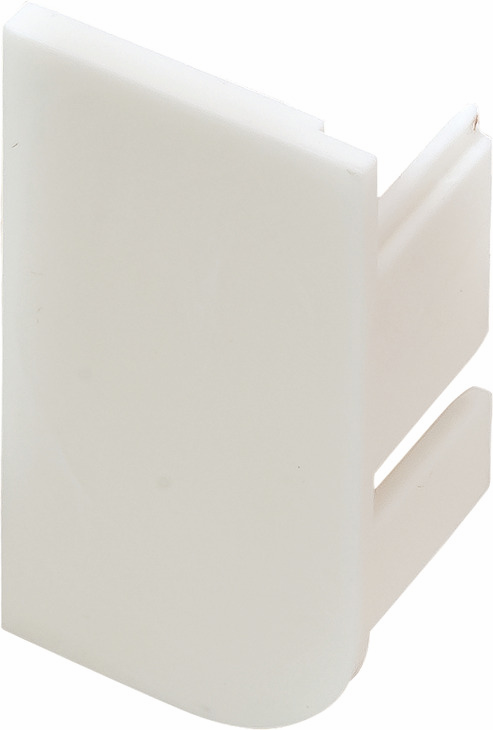 Hafele 126.37.977 End Cap, L-Profile, Passages Collection, plastic, white, RAL9010, right (2 pcs/pkg***)