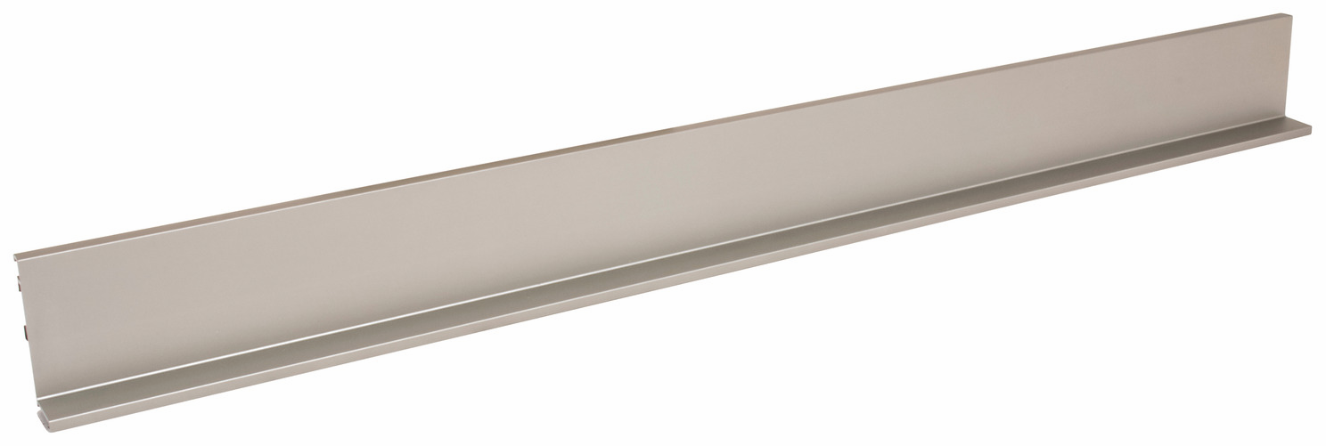 Hafele 126.63.005 L-Profile, Venice, aluminum, matt nickel, 2895mm (each)