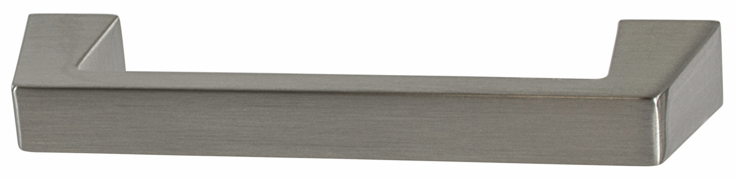 "Hafele 133.50.172 Handle, Amerock Blackrock, zinc, satin nickel, 102ZN73, 8-32, center to center 96mm, includes 1"" screws (each)"